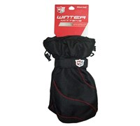 Wilson Staff Golf Winter Mittens (Black/Red)