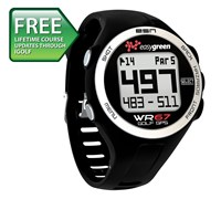 EasyGreen WR67 GPS Golf Watch (Black)