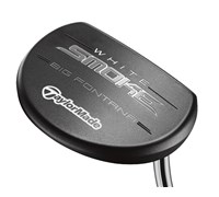 TaylorMade White Smoke Big Fontana Mallet Putter 2014