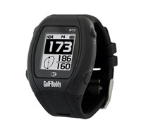 GolfBuddy WT3 Watch GPS Rangefinder (Black)