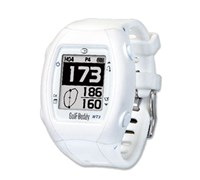 GolfBuddy WT3 Watch GPS Rangefinder (White)