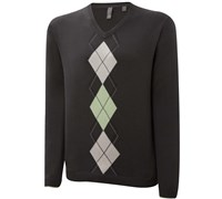 Ashworth Mens Argyle Placement Sweater (Meadow)