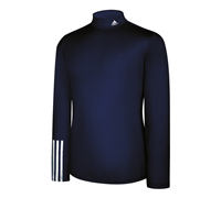 Adidas Mens ClimaLite Thermal Compression 3 Stripe Baselayer (Navy)