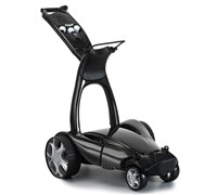 Stewart Golf X9 Remote Lithium Electric Trolley (Metallic Black)