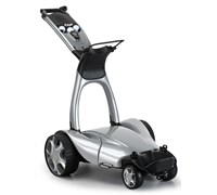 Stewart Golf X9 Remote Lithium Electric Trolley (Metallic Silver)