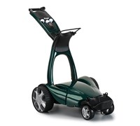 Stewart Golf X9 Follow Lithium Electric Trolley (Green)