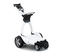 Stewart Golf X9 Follow Lithium Electric Trolley (White)