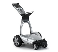 Stewart Golf X9 Follow Lithium Electric Trolley (Silver)