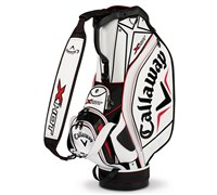 Callaway X Hot Tour 10.5 Inch Staff Bag 2013 (White/Black)
