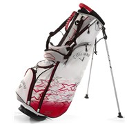 Callaway X Series Midi Pencil Stand Bag (White/Red/Silver)