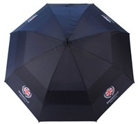Stewart Golf Double Canopy Golf Umbrella (Black)