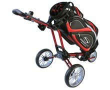 Stewart Golf Z1 Push Trolley (Red)