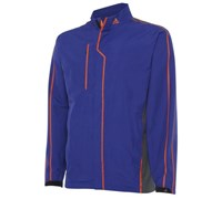Adidas Mens Gore Tex 2 Layer Rain Jacket (Blue/Grey)