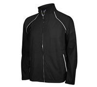 Adidas Mens ClimaProof Provisional Rain Jacket (Black/White)