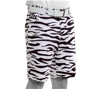 Royal And Awesome Zebra To Ze-Bar Golf Shorts