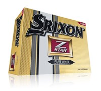 Srixon Z-Star Logo Golf Balls 2013 (Tour Yellow)