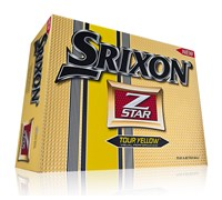 Srixon Z-Star Logo Golf Balls 2013 (Pure White)