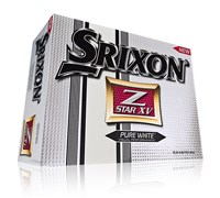 Srixon Z-Star XV Logo Golf Balls 2013 (Pure White)