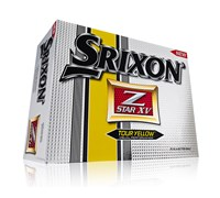 Srixon Z-Star XV Logo Golf Balls 2013 (Tour Yellow)
