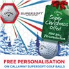 Xmas Promotion - Personalise Callaway Golf Balls for Free