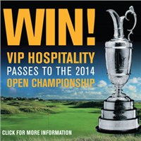 Nikon, MasterCard and a chance to win Hospitality and day passes to the Open Championship 2014