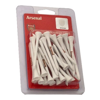 Click to view product details and reviews for Arsenal Football Club Wooden Tees 30 Pack.
