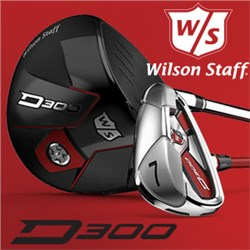 It's all about Distance with the Wilson Staff D300 Drivers, Woods and Irons