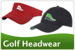 Logo Golf Caps, Visors and Beanies