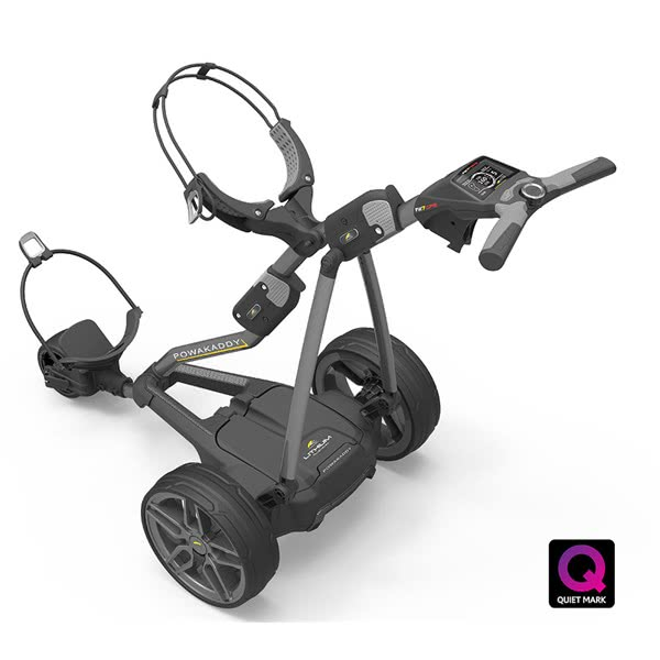 Powakaddy FW7s EBS GPS Electric Trolley with Lithium Battery 2019