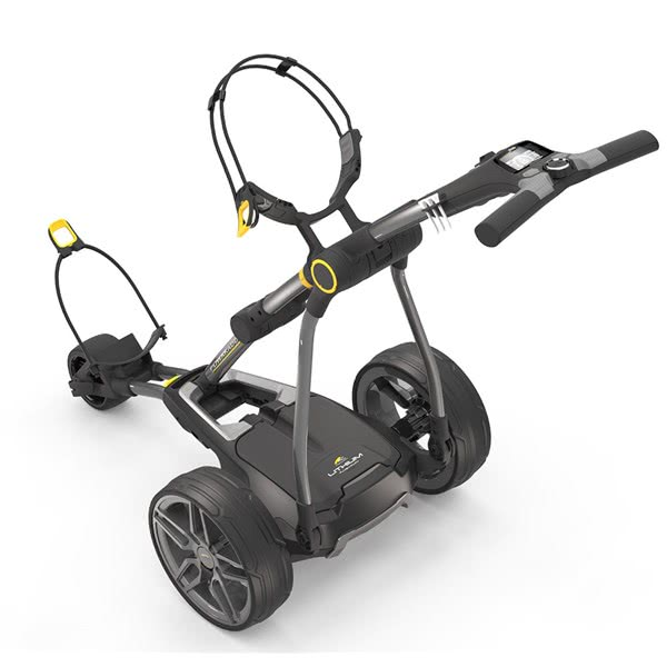 cf723f0d5a7 Powakaddy Compact C2i Electric Trolley with Lithium Battery
