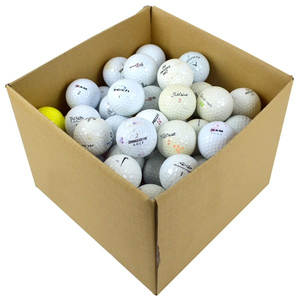 One Shot Practice Golf Balls (100 Balls)