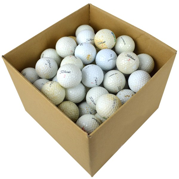 Titleist Mixed Grade C Lake Balls (100 Balls)