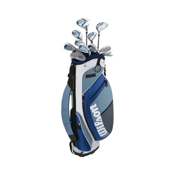 Wilson Ladies MOI Deluxe Golf Package Set (Graphite)