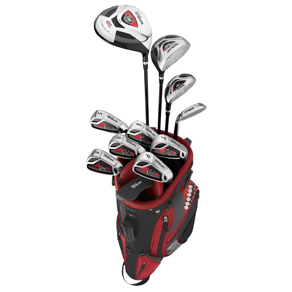 Wilson 1200 Plus Complete Package Set (Steel/Graphite)