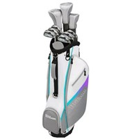 Wilson Ladies 1200 XV Package Set  Graphite Shaft