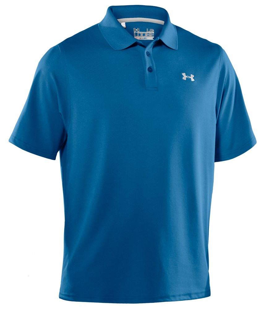 Under armour heatgear performance polo shirt mens for Mens under armour shirts