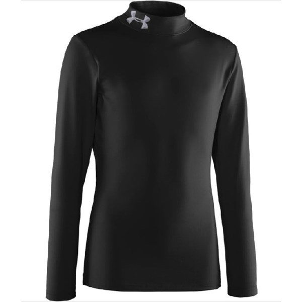 Under Armour Coldgear Compression  Mock Youth XL Kids Boys Baselayer Top