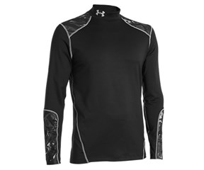 Under Armour Mens ColdGear Infrared Evo Fitted Mock Baselayer