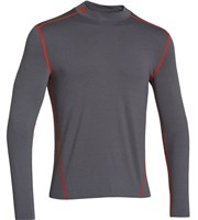Under Armour Mens ColdGear Evo Fitted Mock Baselayer