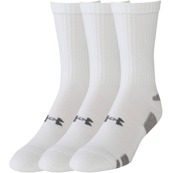 Under Armour HeatGear Crew Socks (3 Pack)