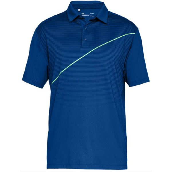 Under Armour Mens Playoff Diagonal Polo Shirt