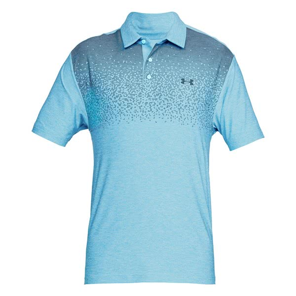 Under Armour Mens Playoff Graphic Print Polo Shirt