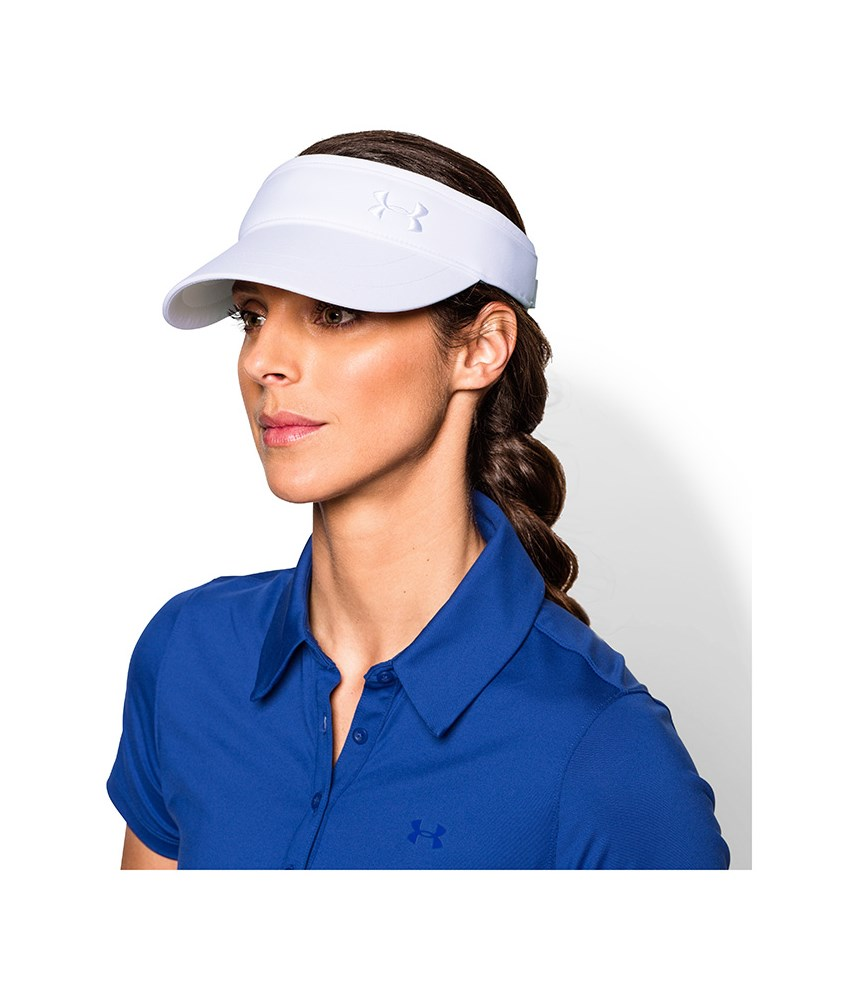 f89f4630a3e Under Armour Ladies Solid Golf Visor. Double tap to zoom. 1 ...