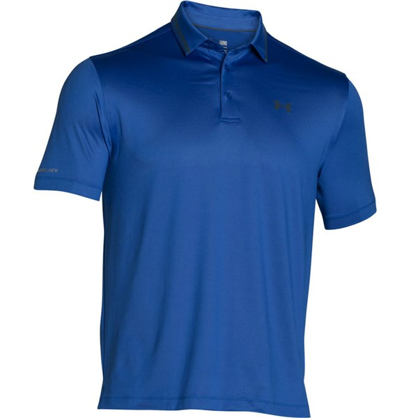 Under Armour Mens ColdBlack Address Polo Shirt. Double tap to zoom. 1 ... 59ccb71ee764e