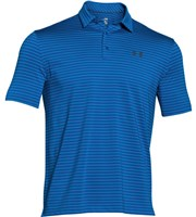 Under Armour Mens ColdBlack Address Stripe Polo Shirt