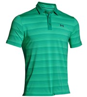Under Armour Mens ColdBlack Chip In Stripe Polo Shirt
