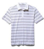 Under Armour Mens ColdBlack Ombre Stripe Polo Shirt