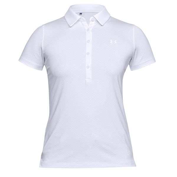 e75eb8be4 Under Armour Ladies Zinger Short Sleeve Novelty Polo Shirt. Double tap to  zoom. 1 ...