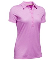 Under Armour Ladies Zinger Short Sleeve Novelty Polo Shirt