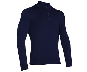 Under Armour Mens Tips Quarter Zip Mock Neck Sweater